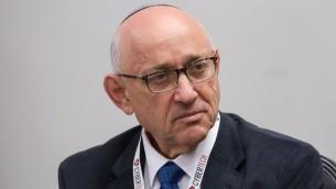Yaakov Nagel (Crédit : Miriam Alster/Flash90)