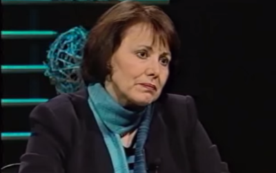 Homa Hoodfar, anthropologue canado-iranienne, en 2010. (Crédits : capture d'écran YouTube / International Focus)