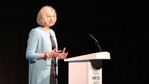 Theresa May  (Crédit : Wikimedia Commons CC BY 2.0)