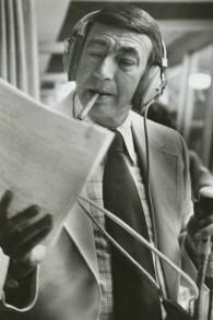 Howard Cosell en 1975. (Crédit : Wikipedia)