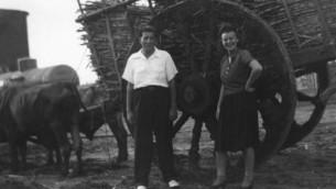 Reuben (Ruby) et Isabel Schiller à Cuba, en 1942. (Autorisation)