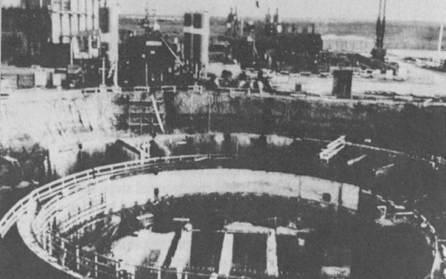 Le réacteur nucléaire irakien d'Osirak, avant le bombardement israélien de 1981. (Crédits : Wikipedia)