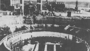 Le réacteur Osirak avant le bombardement israélien de 1981 (Photo: Wikipedia)