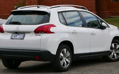 Une Peugeot 2008, l'un des modèles que produira PSA en Iran avec son partenaire Iran Khodro. (Crédits : Wiki Commons)