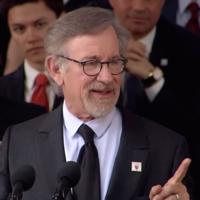 Steven Spielberg à Harvard, le 26 mai 2016. (Crédit : capture d'écran/YouTube)