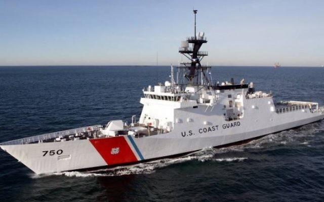 USCGC Bertholf, premier navire de la classe Legend à être mis en service pour les gardes-côtes américains. (Crédit : domaine public/Wikipedia)