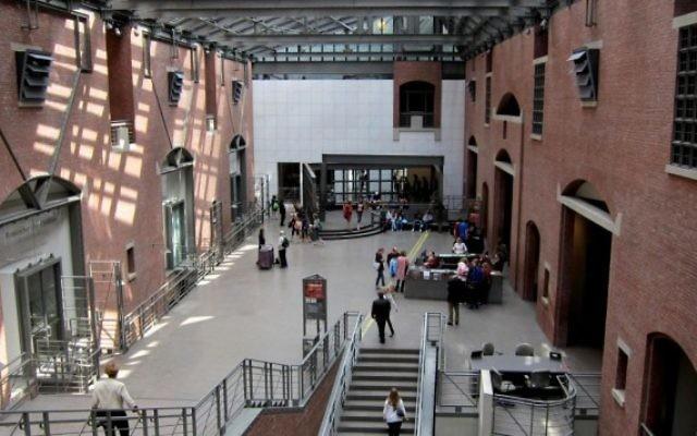 Le musée du Mémorial l'Holocauste des Etats-Unis, à Washington. (Crédit : CC BY-SA/AgnosticPreachersKid)