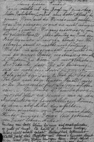 Une lettre de Regina avec un post-scriptum écrit par Sophie. Ce trésor épistolaire jette un nouvelle lumière sur la vie quotidienne d'une famille sous le joug des nazis. (Crédits : autorisation)