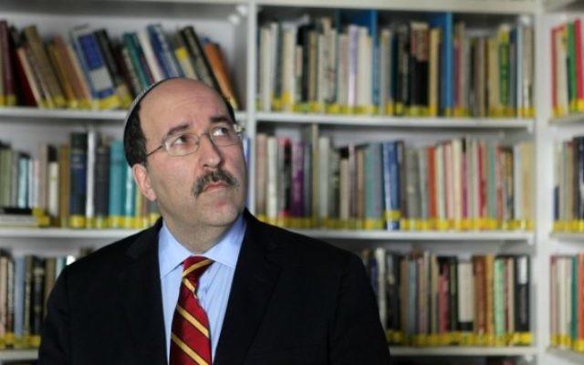 Dore Gold, directeur général du ministère des Affaires étrangères. (Crédit : Kobi Gideon/Flash90)