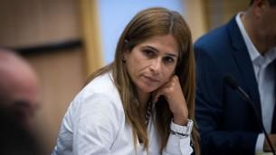 La députée de Koulanou Merav Ben-Ari. (Crédit : Miriam Alster/Flash90)