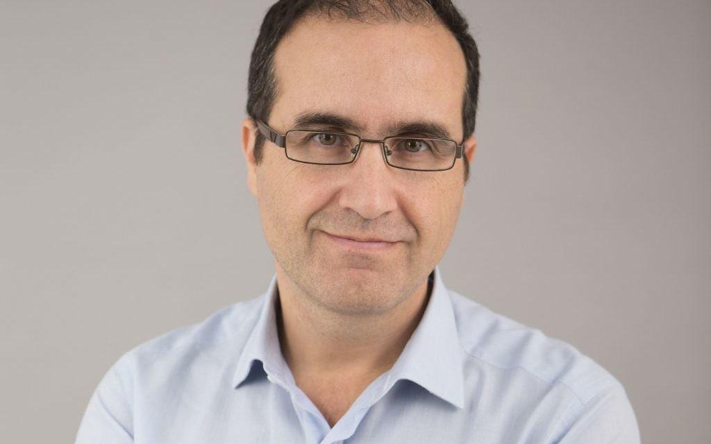 Gilles Darmon, fondateur de l'ONG Latet. (Crédits : autorisation)