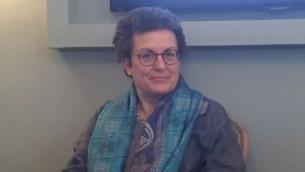 L'avocate Susan Weiss, fondatrice et directrice du Centre pour la justice des femmes (CWJ), à une conférence de presse au Jerusalem Press Club. le 29 mars 2016 (Photo: Amanda Borschel-Dan / Times of Israel)