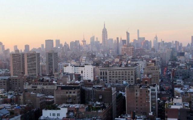 Vue de la skyline de New-York le 11 juillet 2016 (Crédit : Bennett Raglin/Getty Images for New Era/AFP)