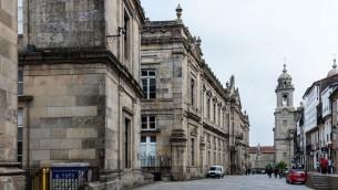 La ville de Saint-Jacques de Compostelle, capitale de la communauté autonome de Galicie, dans le nord ouest de l'Espagne. (Crédit : CC BY-SA 4.0 Diego Delso/Wikipedia)