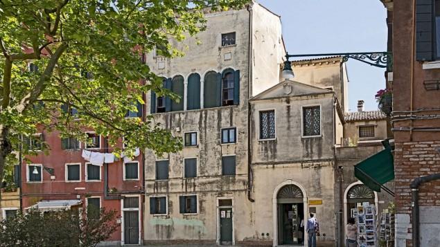 La Scola Grande Tedesca et la Scola Canton du Ghetto de Venise, en Italie. (Crédit : Didier Descouens/Travail personnel/CC BY-SA 4.0/WikiCommons)