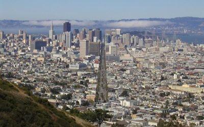 Une vue de San Francisco. (Crédits : Wiki Commons / domaine public)