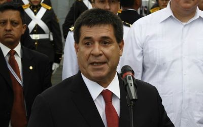 Le président du Paraguay Horacio Cartes (Crédit : Flickr/Agencia de Noticias ANDES/CC BY-SA 2.0)