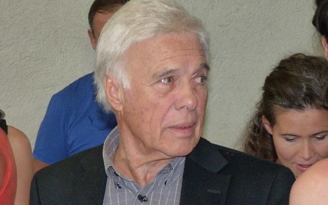 L'humoriste français Guy Bedos. (Crédit : Wikimedia Commons BY CC 3.0)