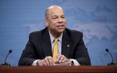 Jeh Johnson, secrétaire à la Sécurité intérieure des Etats-Unis. (Crédit : WikiCommons)
