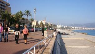 Promenade des Anglais (Crédit : Me - Bhu z Crecelu/Wikimedia commons)