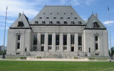 La Cour suprême du Canada, à Ottawa (Crédit : CC BY detsang, Flickr)