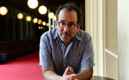 Le nouveau directeur de l'Opéra comique de Berlin, l'Australien Barrie Kosky, le 22 juin 2016. (Crédits : AFP / Charlotte Siemon)
