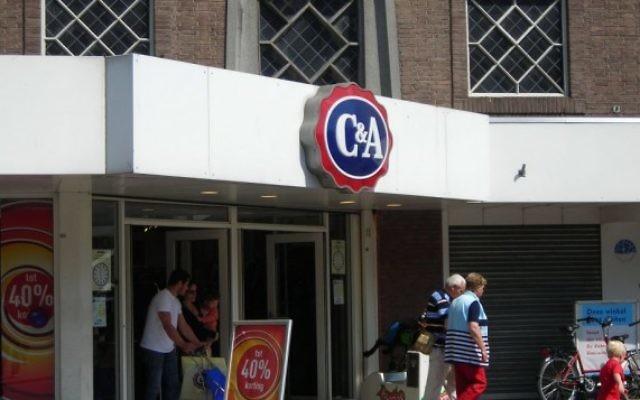 Un magasin C&A aux Pays-Bas. (Crédit : CC BY-SA, Erik1980 Wikipedia)