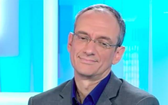 Frédéric Encel (Crédit : Capture d'écran YouTube)