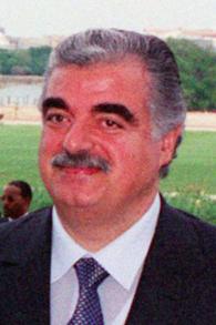 Rafic Hariri (Crédit : Department of Defense/domaine public)