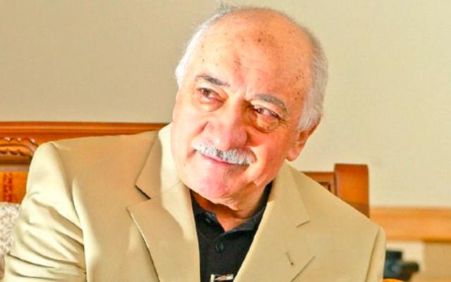 Le dignitaire religieux turc et opposant au régime d'Erdogan, Fethullah Gülen (Crédit : Wikimedia Commons)