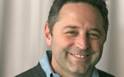 Daniel Sokatch, directeur exécutif du New Israel Fund. (Crédit : New Israel Fund/JTA)