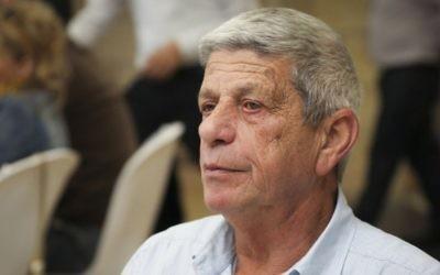 Moti Dotan, président du conseil régional de Basse Galilée, le 7 février 2014. (Crédit : Hadas Parush/Flash90)