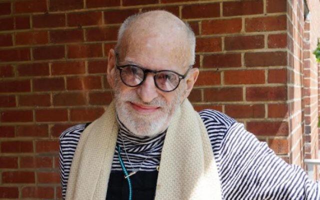 Larry Kramer, l'une des plus grandes figures de l'histoire du militantisme LGBTQ et de la lutte contre le sida. (Crédits : autorisation de HBO)
