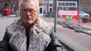 Robert Moszkowicz à Amsterdam en 2015. (Crédit : autorisation de Max Moszkowicz / via JTA)