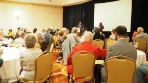 Lors de la réunion de la SCOPE à Atlanta, Géorgie, octobre 2015 (Crédit : autorisation)