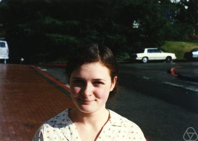 Ruth Lawrence, photographie non datée. (Crédit : George M. Bergman/ Wikipedia)