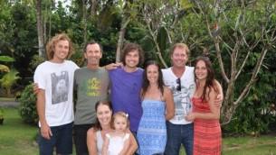 La famille Beitz qui a possédé le Nautilus Resort pendant 22 ans. (Crédit : autorisation)
