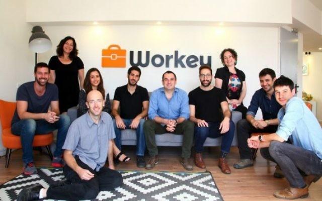 Une équipe de Workey (Autorisation)