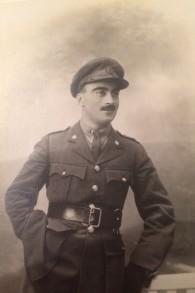 Le Major Bertram Maurice Cohen Tyler, vers 1916, qui a plus tard été nommé gouverneur militaire de Homs, en Syrie. (Autorisation)
