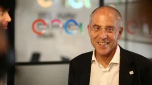 Francesco Starace, le PDG d'Enel. (Crédit : autorisation)