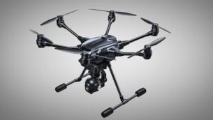 Le drone Yuneec Typhoon H équipé d'une caméra dont la technologie a été développée à Haifa par Intel (Crédit : autorisation)