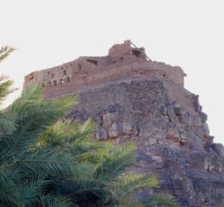 La forteresse de Khaybar (Crédit : WikiCommons)