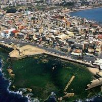 Une vue aérienne du port d'Akko (Israel Tourism/CC BY-SA 2.0