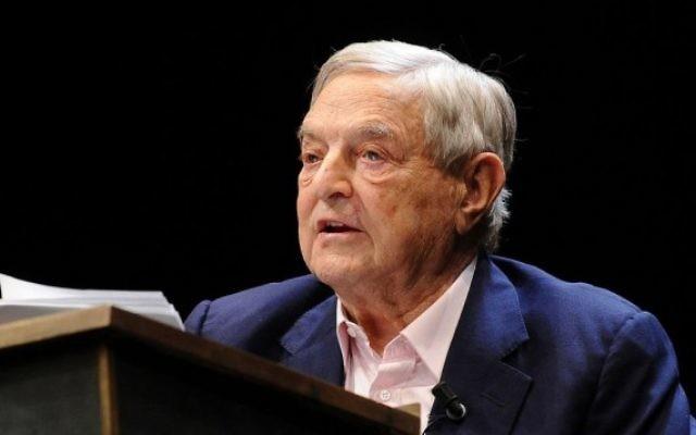 Le milliardaire américain George Soros, lors d'un forum économique à Trente, Italie en 2012. (Crédit : Niccolò Caranti/CC BY-SA 3.0/WikiCommons)