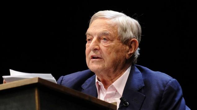 George Soros, milliardaire américain, en Italie en 2012. (Crédit : Niccolò Caranti/CC BY-SA 3.0/WikiCommons)