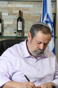 Le président du Conseil régional de Har Hevron, Yochai Damari (autorisation)