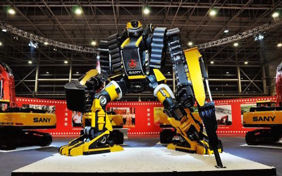 Robot industriel (Crédit : Pixabay)