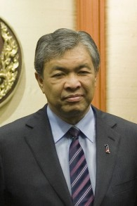 Zahid Hamidi, vice-Premier ministre de Malaisie. (Crédit : thaigov/CC BY 2.0/WikiCommons)