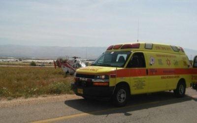 Une unité de soins intensifs mobiles de Magen David Adom. (Crédit : autorisation)