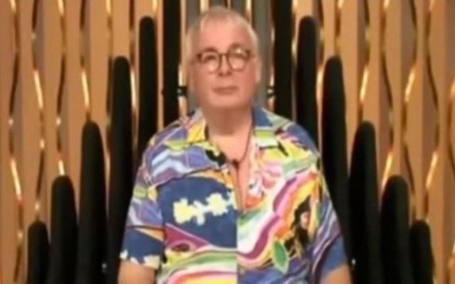 Christopher Biggins au moment de son expulsion de l'émission Big Brother de la Cinquième chaîne britannique, en août 2016. 5crédit : capture d'écran YouTube)